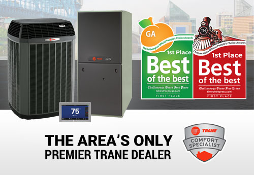 trane authorized and best of the best in both chattanooga and north georgia